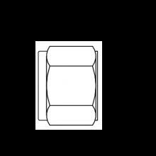 Гайка для фитинга модель N