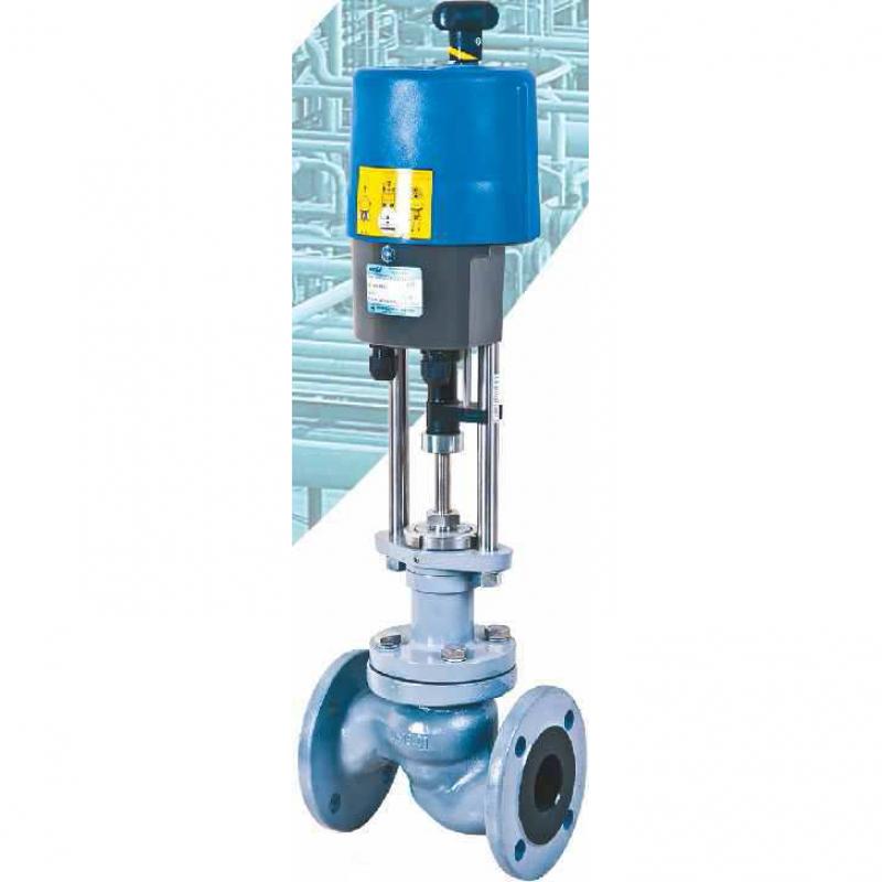 Электрический седельный клапан ecoflo-GV PN25