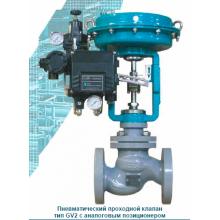 Пневматический седельный клапан ecoflo-GV PN40