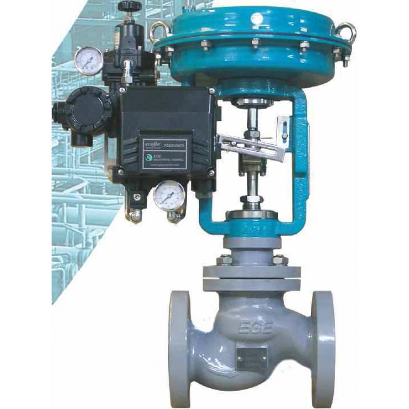 Пневматические седельные клапаны ecoflo-GV ANSI 300